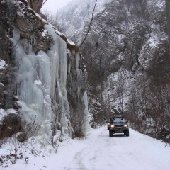 Winter in the Resava canyon