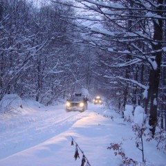 Exploring Kučaj winterscape