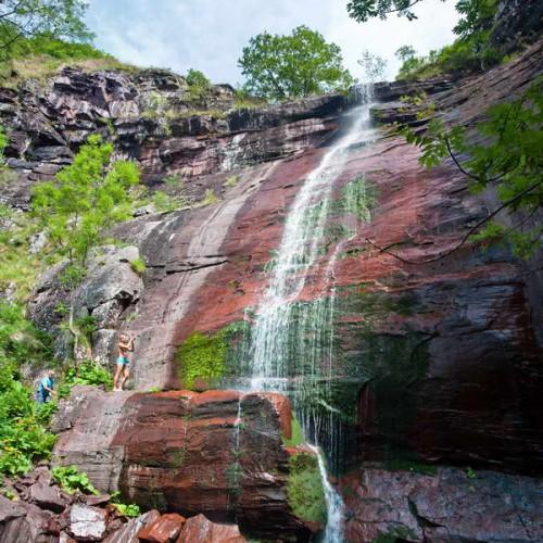 Čungulj waterfall