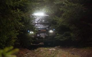 Pushing through a narrow road on Tara