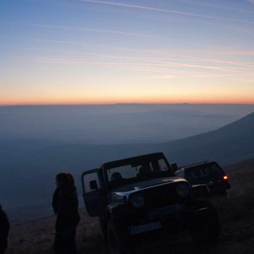 On Rtanj at sunset