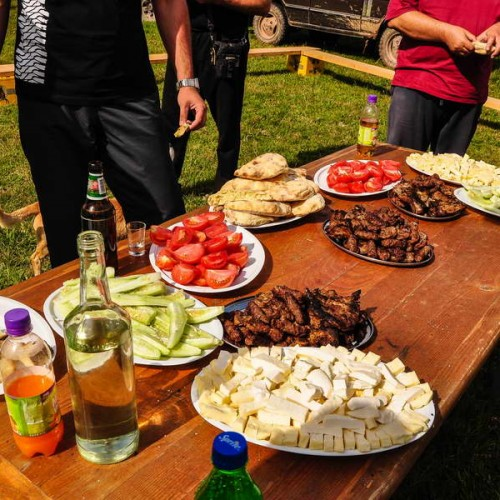 Traditional Montenegrian hospitality