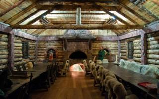Inside of Valkaluci lodge