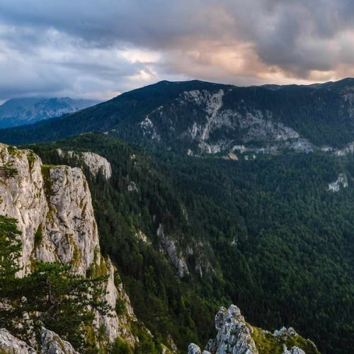 View from Ćurevac scenic point