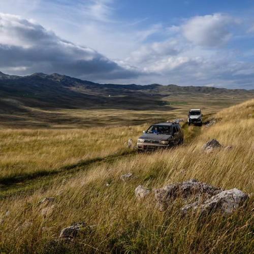 Crossing the Sinjajevina plateau