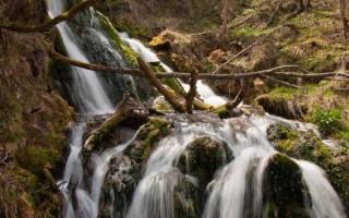 Gostilje waterfalls, detail