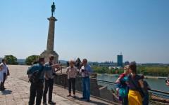 Siteseeing in Belgrade