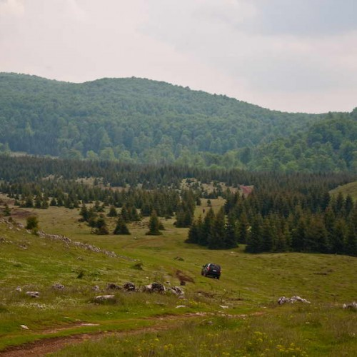 Rečke valley, our first campsite