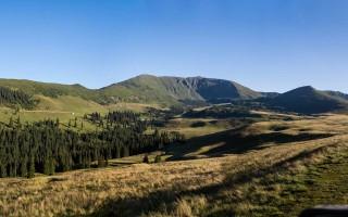 Approaching Rodna mountain