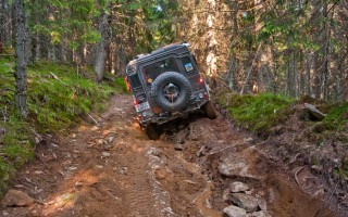 Trails in the Surean mountains can be tricky