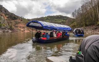 Boat ride on Uvac lake