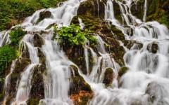 Sopotnica waterfalls - detail
