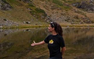 By the big Salakovo lake