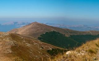 From Pelister peak