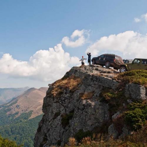 On Babin Zub peak