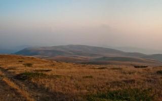 Endless highland plains of Bratkova strana