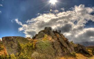 On top of a rock near Karadžica challet