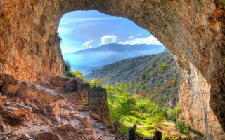 The Pešna cave