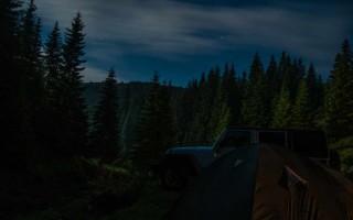 Camping below the Beleđe pass