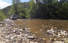 Crossing Suvaja river