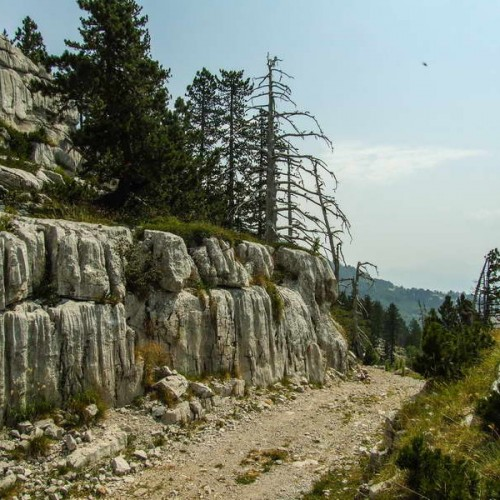 The incredible rock formations on Maganik