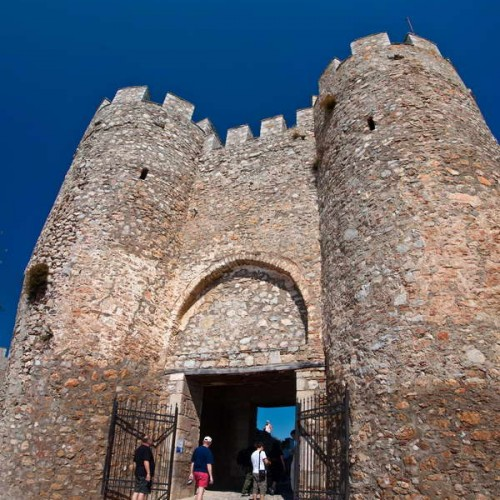 Entrance to Ohrid fortress