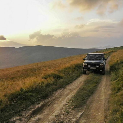 Bjelasica main ridge trail