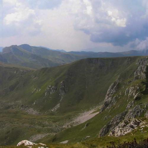 Panoramic view of Bjelasica