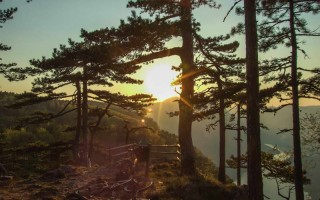 From the Banjska stena scenic view on Tara mountain