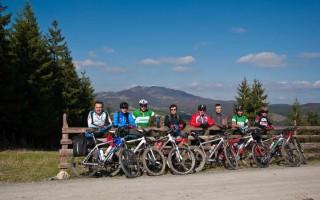 Freebikers on Golija mountain