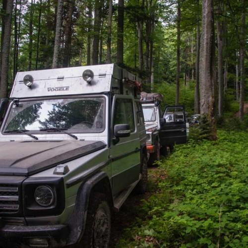 Finding our way through Ruskai mountains