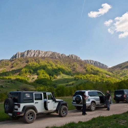 Approaching Stol mountain