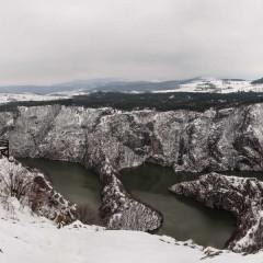 Winter view from Molitva scenic point