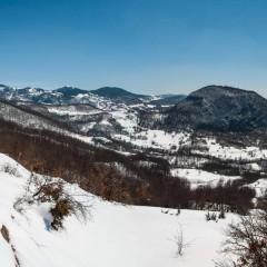 Through winterscapes of Jadovnik