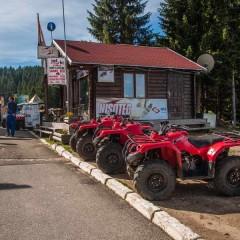 You can even rent ATV's on Kopaonik