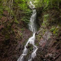 Jelovarnik waterfall, one of highest in Serbia