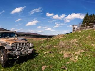Over the Velika Brezovica highland