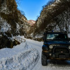 In the Resava canyon