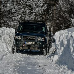 Snow can get really high in the serbian Carpathians