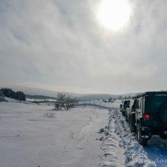 Crossing Kučaj mountains