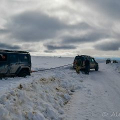 Challenging deep snow