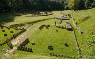 Sarmizegetusa, the ancient capitol of the Dacian kingdom