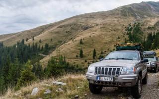 Exploring roads in the Kapacini mountains