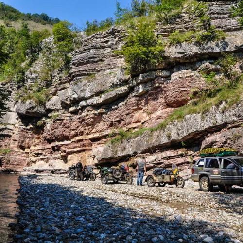 Boljetin river canyon
