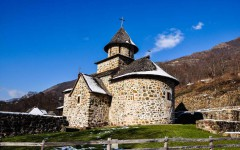 Church of the Uvac monastery