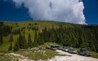 In the Apuseni mountains
