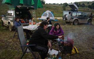 Camping in Maramures