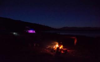 Night on lake Stiol