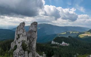 View from the Rarau peak