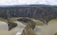 Uvac from Molitva scenic view